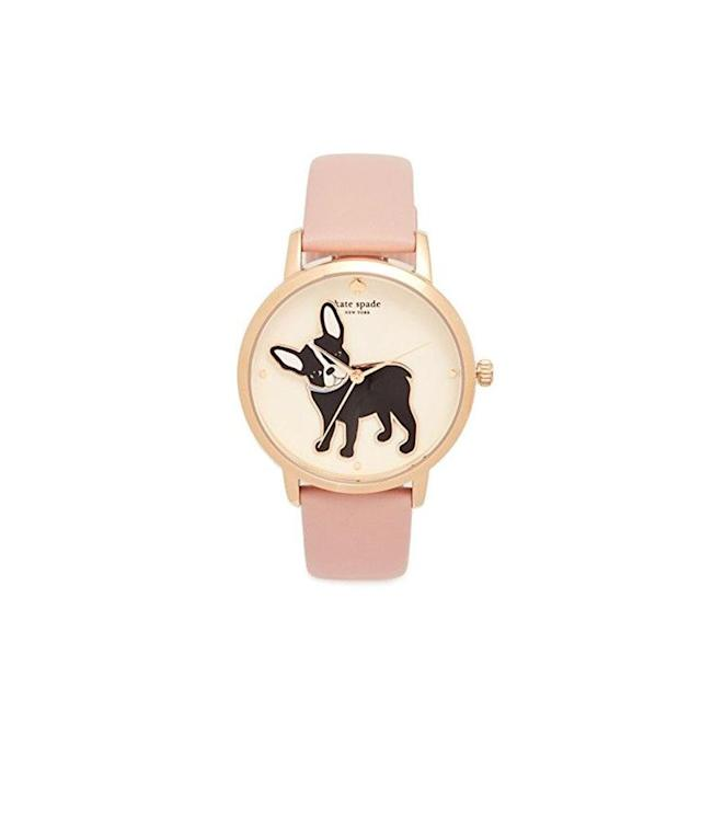 "<p>Novelty Leather Watch, $195, <a href=""https://www.shopbop.com/novelty-leather-watch-kate-spade/vp/v=1/1560314737.htm?currencyCode=USD&extid=AFFPRG_Polyvore_CPC_SB_USD&cvo_campaign=polyvore_sb_us&cvosrc=affiliate_cpc.polyvore_us.watches"" rel=""nofollow noopener"" target=""_blank"" data-ylk=""slk:shopbop.com"" class=""link rapid-noclick-resp"">shopbop.com</a> </p>"