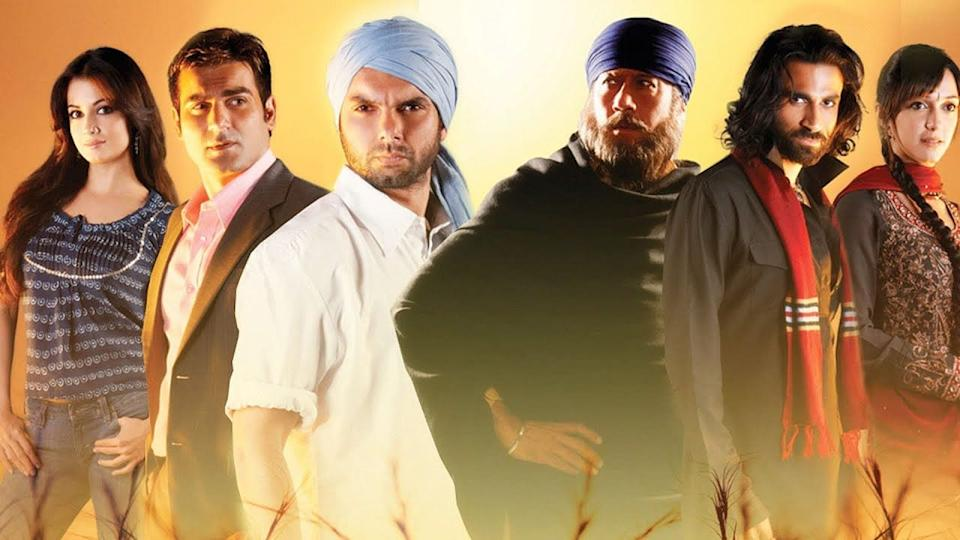 The cast of Kisaan.