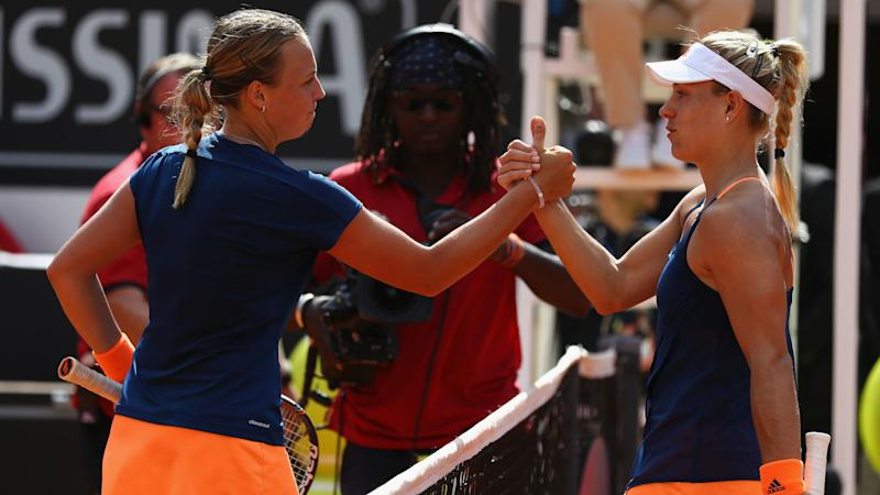 Angelique Kerber crashes out of Italian Open