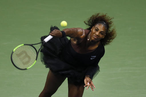 Williams receives game penalty in U.S. Open title match