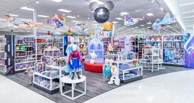 Disney store at Target opens at select 25 locations across the U.S. and on Target.com/DisneyStore. Disney elements: © Disney