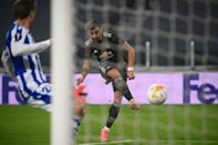 The opening goal was Fernandes' 20th of the season