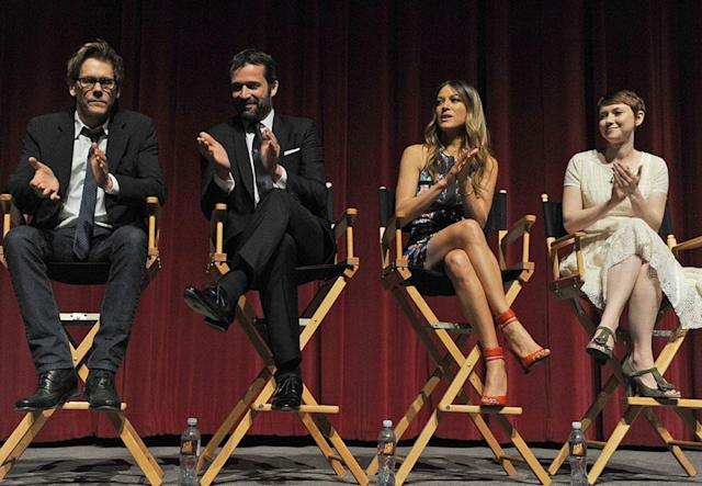 """The cast of """"The Following"""" attends an Academy Screening and Q&A at the Leonard H. Goldenson Theatre on Monday, April 29."""