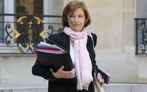 French Defence Minister Florence Parly leaves the Elysee Presidential Palace after attending a weekly cabinet meeting on May 23, 2018 - Credit: LUDOVIC MARIN/AFP