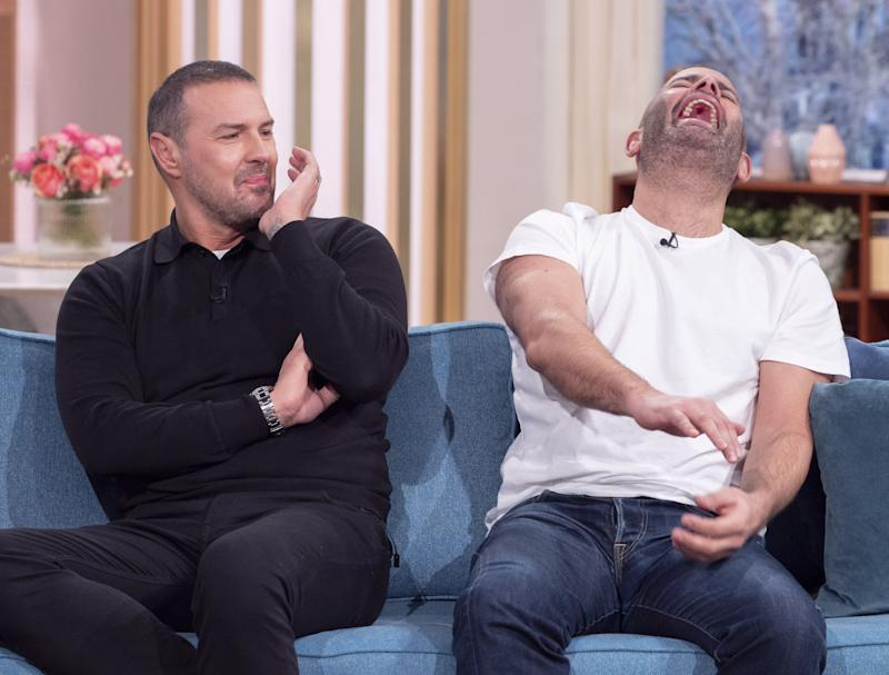 Paddy McGuinness and Chris Harris on This Morning (Photo: Ken McKay/ITV/Shutterstock)