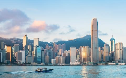 Victoria Harbour is one of the city's key draws - Credit: getty