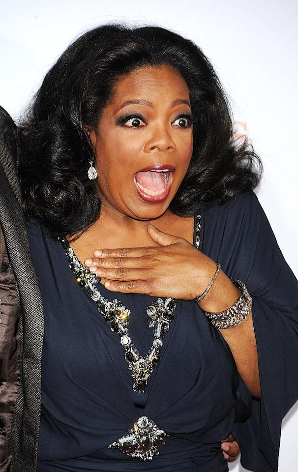 "The <i>New York Post</i> reports that Oprah Winfrey quietly went house hunting in the ritzy area of Alpine, New Jersey, where she took an interest in a 30,000-square-foot mansion that's going for $68 million. The over-the-top manor comes with 19 bedrooms, a tennis court, pool, wine cellar, and manicured gardens. Find out what Oprah herself says about moving into this spectacular property by clicking over to <a href=""http://www.gossipcop.com/oprah-winfrey-buying-68-million-dollar-mansion-alpine-new-jersey/"" target=""new"">Gossip Cop</a>. Jeffrey Mayer/<a href=""http://www.wireimage.com"" target=""new"">WireImage.com</a> - November 1, 2009"