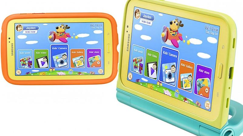 Samsung Galaxy Tab 3 Kids Is Just for the Children