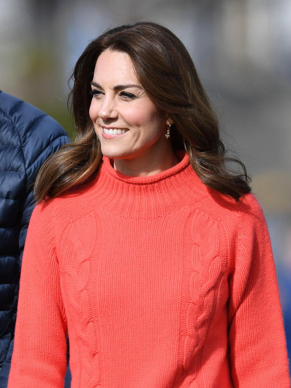 Kate Middleton's Latest Zoom Look Has Her Most Interesting Neckline Yet