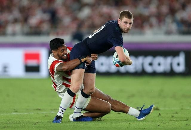 Finn Russell has not featured for Scotland since the final game of last year's World Cup in Japan