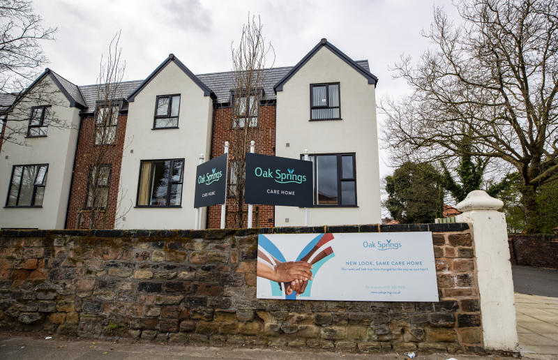 The Oak Springs care home in Wavertree, Liverpool, which was operating with a quarter of its usual staff numbers due to Covid-19, according to Labour MP Paula Barker.