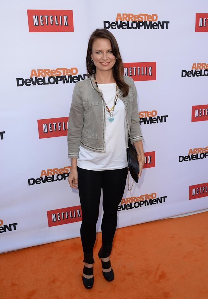 "HOLLYWOOD, CA - APRIL 29:  Actress Mary Lynn Rajskub arrives at the TCL Chinese Theatre for the premiere of Netflix's ""Arrested Development"" Season 4 held on April 29, 2013 in Hollywood, California.  (Photo by Jason Merritt/Getty Images)"
