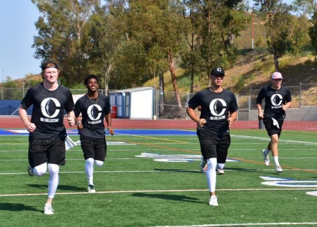 Some of the nation's best high school QB prospects attend the QB Collective camp in hopes of learning how to better prepare themselves for the NFL. (Photo credit: Twitter/@qb_collective)