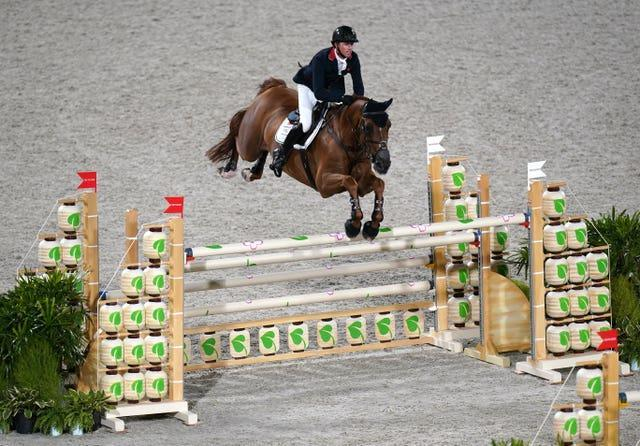 Ben Maher won gold with Explosion W in the Individual Jumping Final