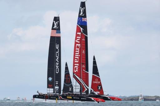 America's Cup defenders USA claw back a win over New Zealand