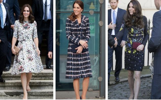 The Duchess of Cambridge and Meghan Markle are frequently seen in Erdem - Getty/Wireimage