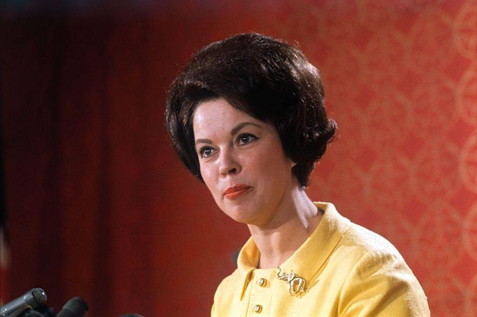 <p>A lifelong member of the Republican Party, her loss in the election did not stop Shirley from working in politics. In 1968, she campaigned for Richard Nixon and spoke of her own ambitions to run again for office. </p>
