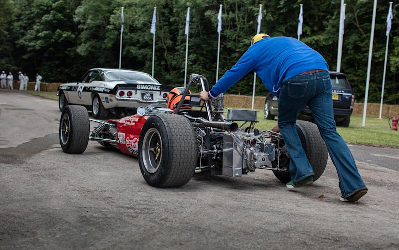 Clayton Kingman Lotus 59 - Credit: Rob Overy