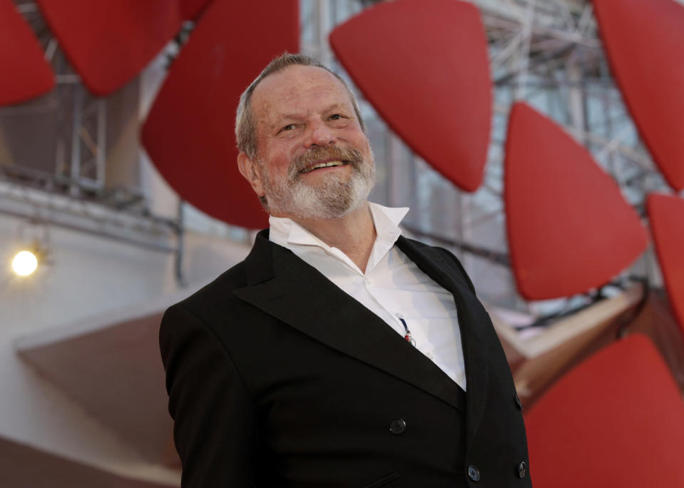 Terry Gilliam (Credit: AP Photo/Andrew Medichini)