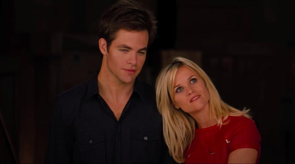 Chris Pine and Reese Witherspoon in This Means War
