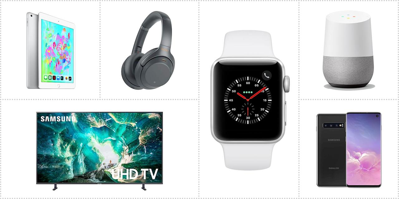 """<p>Black Friday and Cyber Monday are great times to snag the electronics you've been craving all year, and there's no shortage of <a href=""""https://www.popularmechanics.com/promotions/a29874109/black-friday-deals/"""">great deals</a>. Many retailers, including <a href=""""https://www.popularmechanics.com/promotions/a29728544/amazon-black-friday-deals/"""">Amazon</a> and <a href=""""https://www.popularmechanics.com/technology/a29590303/walmart-black-friday-deals/"""">Walmart</a>, are offering hefty discounts on technology of all kinds. To help you sort through it all, our gear editors found the best deals on TVs, smart-home tech, computers, headphones, and more. </p>"""