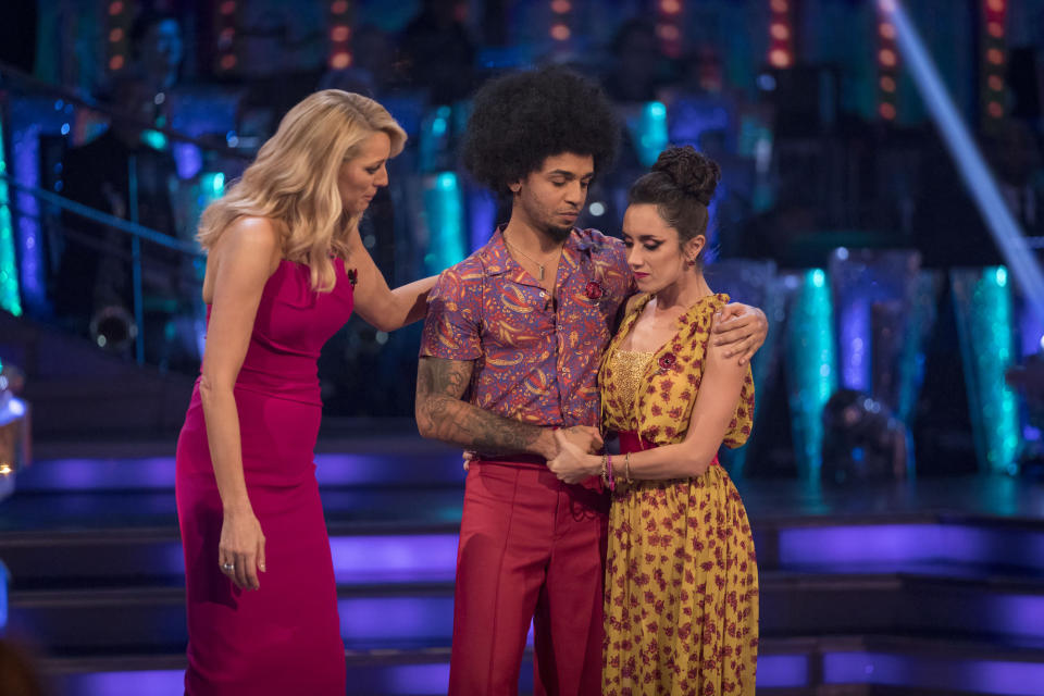 Strictly was once again accused of racism following Aston Merrygold's shock elimination. Copyright: [BBC]