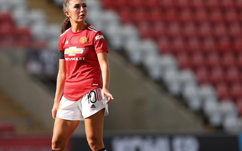 Katie Zelem of Manchester United - Getty Images Europe