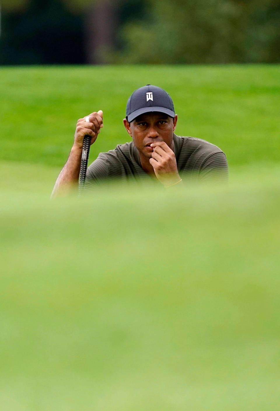 Tiger Woods has a long recovery ahead of him before even thinking about swinging a golf club.
