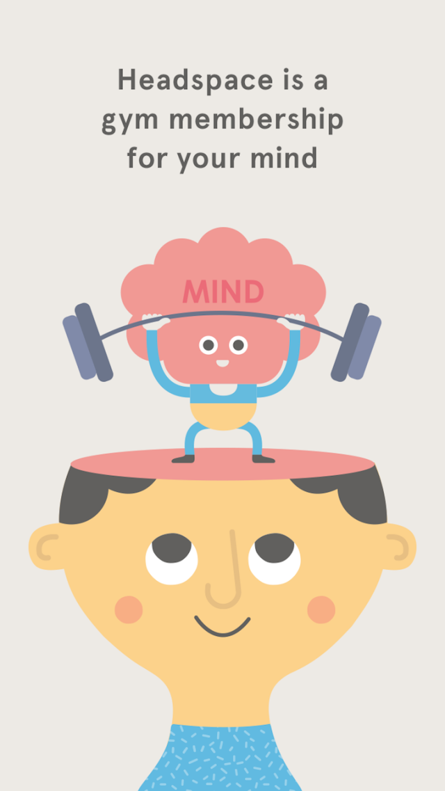 """<p>One of the first and most widely embraced wellness apps, <a href=""""https://www.headspace.com/signup?utm_source=google-b&utm_medium=cpc&utm_campaign=US&utm_content=headspace_app&origintoken=google-b&gclid=CjwKEAiAqJjDBRCG5KK6hq_juDwSJABRm03hprsBXmtbXAK566E5n2A_EukdJNCAiOdZ9ULs-IGVTBoChAzw_wcB"""" rel=""""nofollow noopener"""" target=""""_blank"""" data-ylk=""""slk:Headspace"""" class=""""link rapid-noclick-resp"""">Headspace</a> takes mental health as seriously as it does your fitness goals. It's attributed for helping to draw more people into the practice of meditation and for shifting the way people think about it.</p><p>Like any good fitness app, people can draw up a wellness plan that works for them by selecting mediation sessions to fit their mood and lifestyle, then learn how to apply their sessions to becoming a more mindful, compassionate person.</p>"""