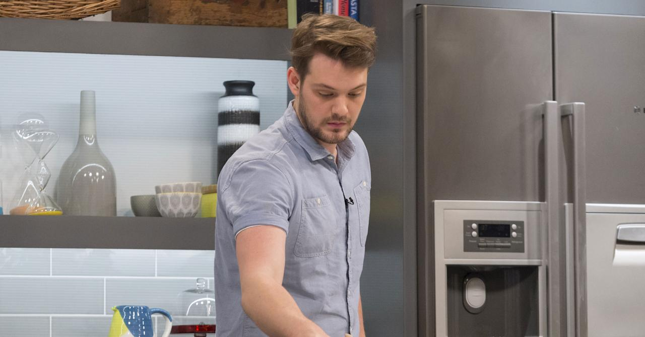 <p>John Whaite quit his fledgling career as a banker for a full-time career as a baker after winning series three of <em>Great British Bake Off </em>in 2012. Whaite's go on to earn a diploma in patisserie and even open his own cooking school based in Lancashire. He has published four cooking books and has presented on a multitude of shows – including <em>Lorraine, This Morning, What's Cooking? </em>and <em>Sunday Brunch.</em><br />(REX/Shutterstock) </p>