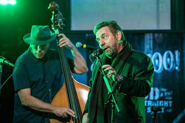 James L. Dolan of JD & The Straight Shot performs during the AOL Build Speaker Series on Jan. 19, 2016 in New York City. (Roy Rochlin/FilmMagic)