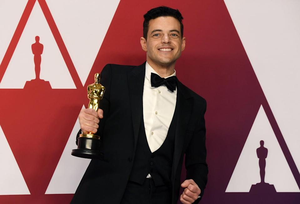 <ul> <li><strong>Has:</strong> An Oscar for <strong>Bohemian Rhapsody</strong> and an Emmy for <strong>Mr. Robot</strong></li> <li><strong>Needs:</strong> A Tony and a Grammy</li> </ul>