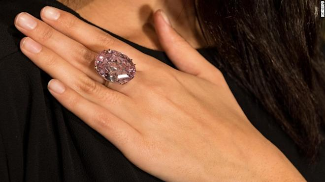 Pink Diamond, Sotheby's, auction