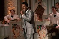 "<p>The musical theater star played the legendary Sam Cook in <em>One Night in Miami</em>, earning his first two nominations for best supporting actor in a motion picture and best original song for ""Speak Now."" </p>"