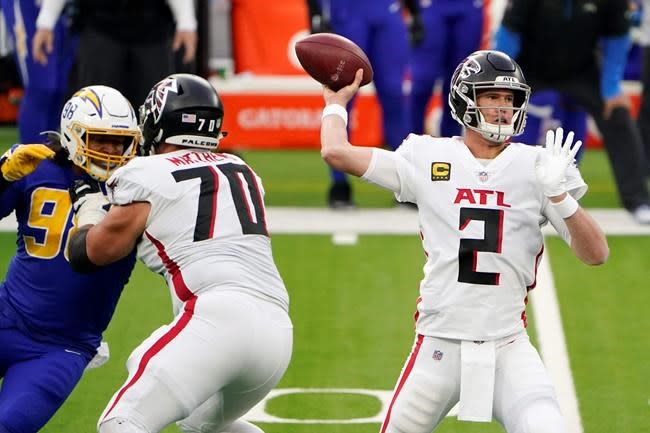 Brady Bucs Look To Solidify Playoff Chances Against Falcons