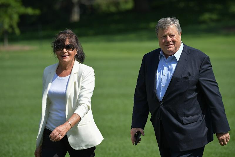 Melania Trump's parents become US residents