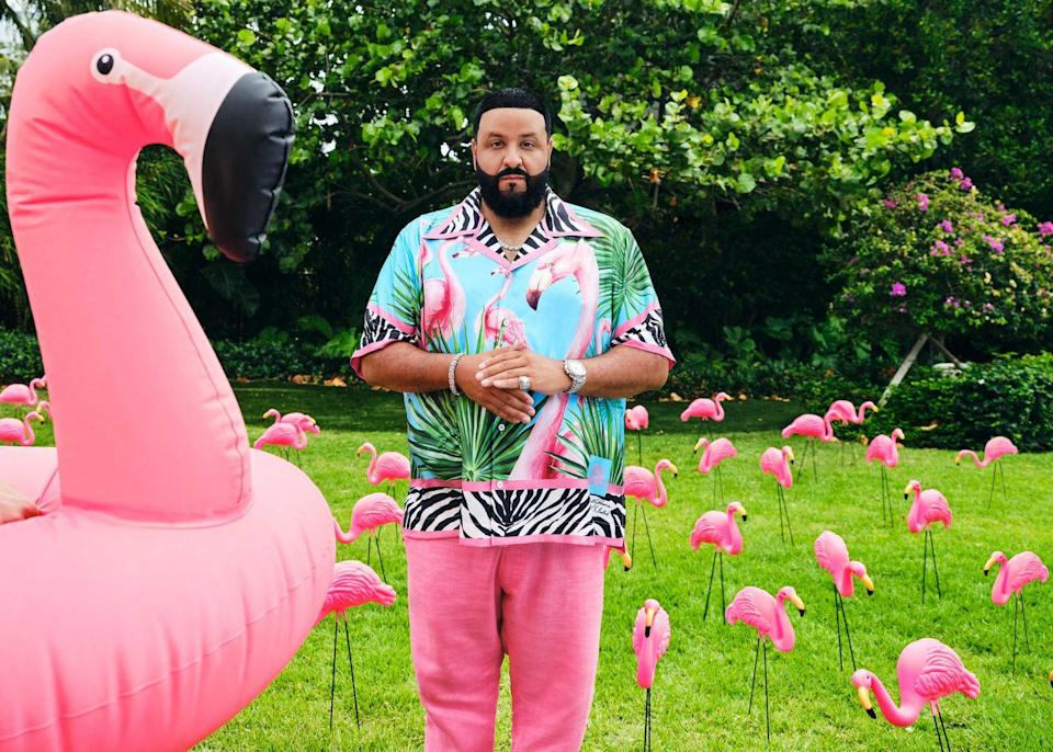 """<p><strong>Who:</strong> Dolce & Gabbana x Khaled Khaled</p><p><strong>What:</strong> Collaboration with DJ Khaled</p><p><strong>Where:</strong> Online and in selects D&G boutiques worldwide</p><p><strong>Why:</strong> Coming off the success of their first drop, Dolce & Gabbana and DJ Khaled are back again for a Dolce & Gabbana x Khaled Khaled collection. This time, flamingoes and the free spirited energy of the Caribbean inspire the RTW and accessories for the whole family-- menswear, womenswear, and kidswear. A special edition box includes DJ Khaled's latest album, where he dons D&G on the cover.</p><p><a class=""""link rapid-noclick-resp"""" href=""""https://us.dolcegabbana.com/en/dj-khaled/?HP_BAN=DJKHALED_210608_landing_1"""" rel=""""nofollow noopener"""" target=""""_blank"""" data-ylk=""""slk:SHOP NOW"""">SHOP NOW</a></p>"""