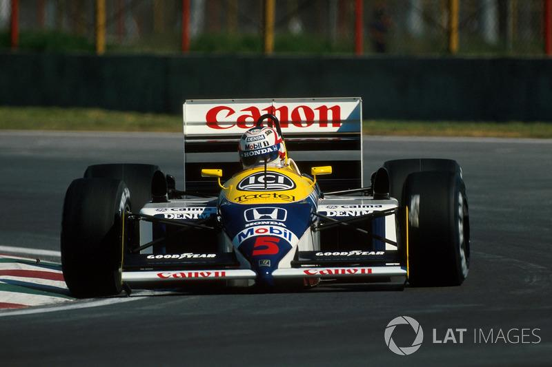 "Nigel Mansell - Williams FW11B-Honda - GP de México 1987<span class=""copyright"">Sutton Motorsport Images</span>"