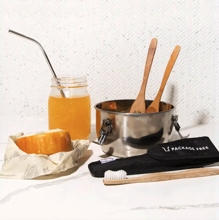 Nordstrom's latest Pop-In event is filled with sustainable lifestyle products. Image via Nordstrom.