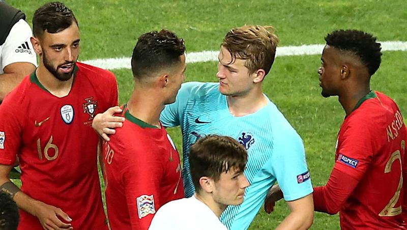 'Cristiano Ronaldo Asked Me to Join Juventus' Says Ajax's Matthijs De Ligt After Portugal's 1–0 Win Over Netherlands in UEFA Nations League 2019 Final