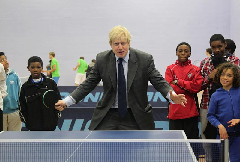 Boris Johnson Asked To Pay Back £3,200 After Failing To Honour Game Of Table Tennis
