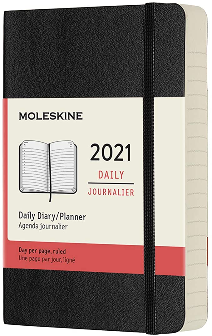 """<h3><a href=""""https://amzn.to/2L4G3th"""" rel=""""nofollow noopener"""" target=""""_blank"""" data-ylk=""""slk:Moleskine 12-Month Daily Planner"""" class=""""link rapid-noclick-resp"""">Moleskine 12-Month Daily Planner</a></h3><br>Get your life together with this compact yet still comprehensive 12-month scheduler from the true planner OG. <br><br><strong>Moleskine</strong> 12 Month 2021 Daily Planner, $, available at <a href=""""https://amzn.to/2W6zzMC"""" rel=""""nofollow noopener"""" target=""""_blank"""" data-ylk=""""slk:Amazon"""" class=""""link rapid-noclick-resp"""">Amazon</a>"""