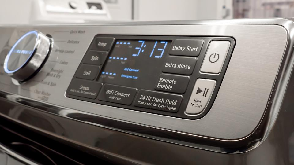 We loved this feature-heavy Maytag washer.