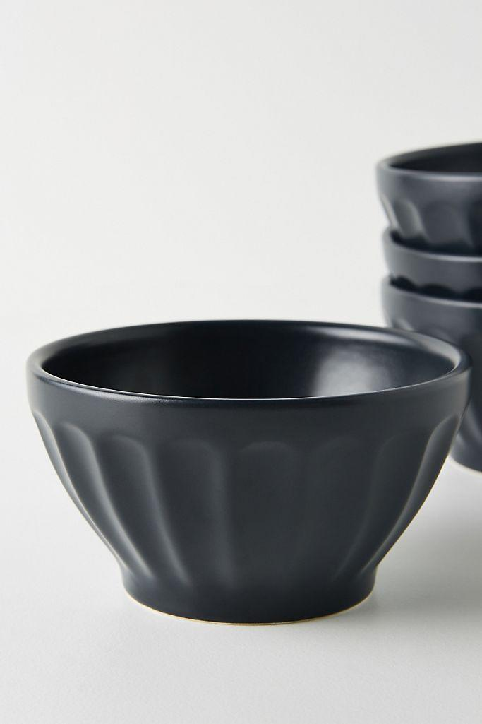 Matte Latte Bowl (Anthropologie)