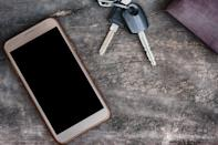 """Instead of coming home and immediately setting your phone, wallet, and keys on the kitchen table, """"put things away where they go,"""" says <strong>Tracy McCubbin</strong>, founder of <a href=""""https://dclutterfly.com/"""" rel=""""nofollow noopener"""" target=""""_blank"""" data-ylk=""""slk:dClutterfly"""" class=""""link rapid-noclick-resp"""">dClutterfly</a>, a home organizing company based in Los Angeles, California. """"If people can make that part of their daily routine, that's a huge game-changer."""""""