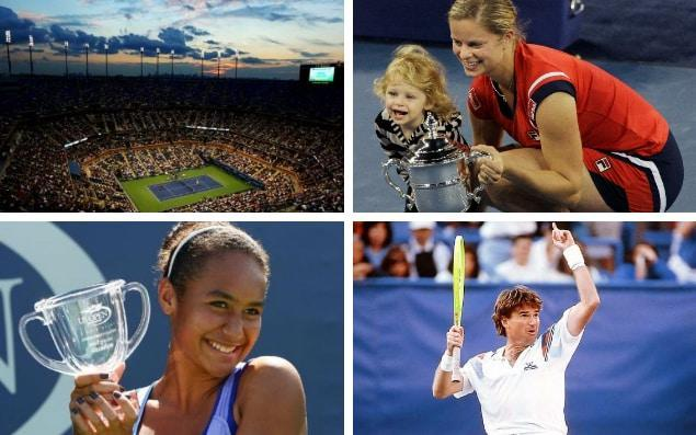 The US Open has witnessed some crazy games, scenes and stars over the years - Getty Images