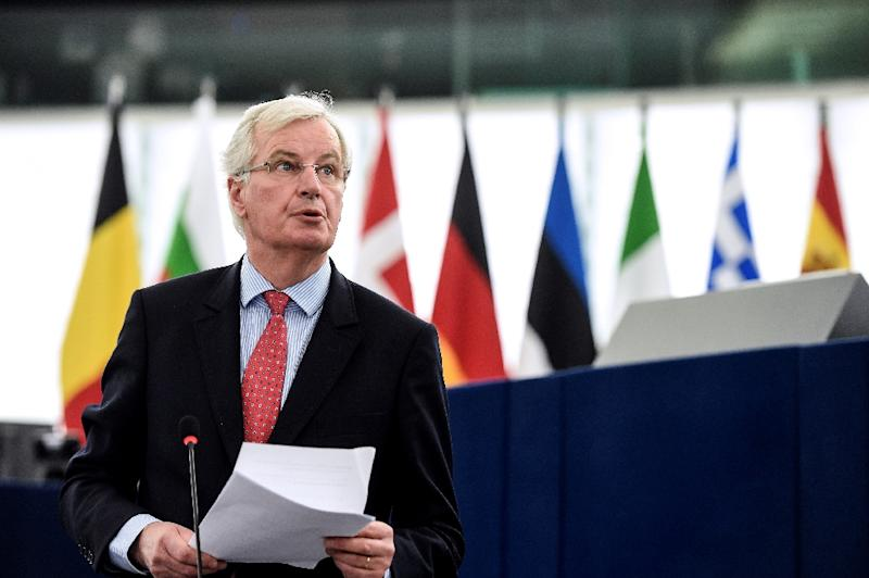 EU's Barnier says quick Brexit means quick trade talks