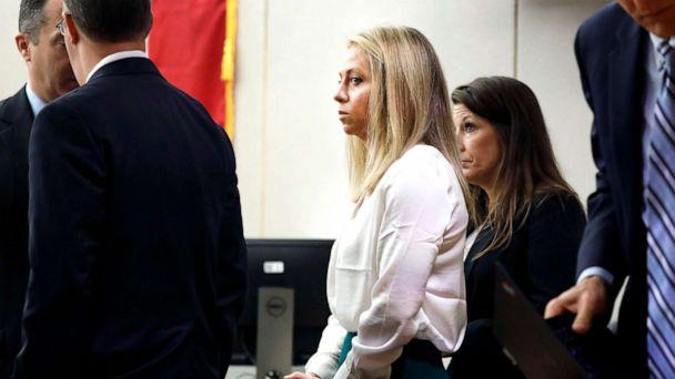 PHOTO: Former Dallas police officer Amber Guyger appears at the Frank Crowley Courts Building in Dallas, Texas, Sept. 28, 2019. (Tom Fox/The Dallas Morning News via AP, Pool)