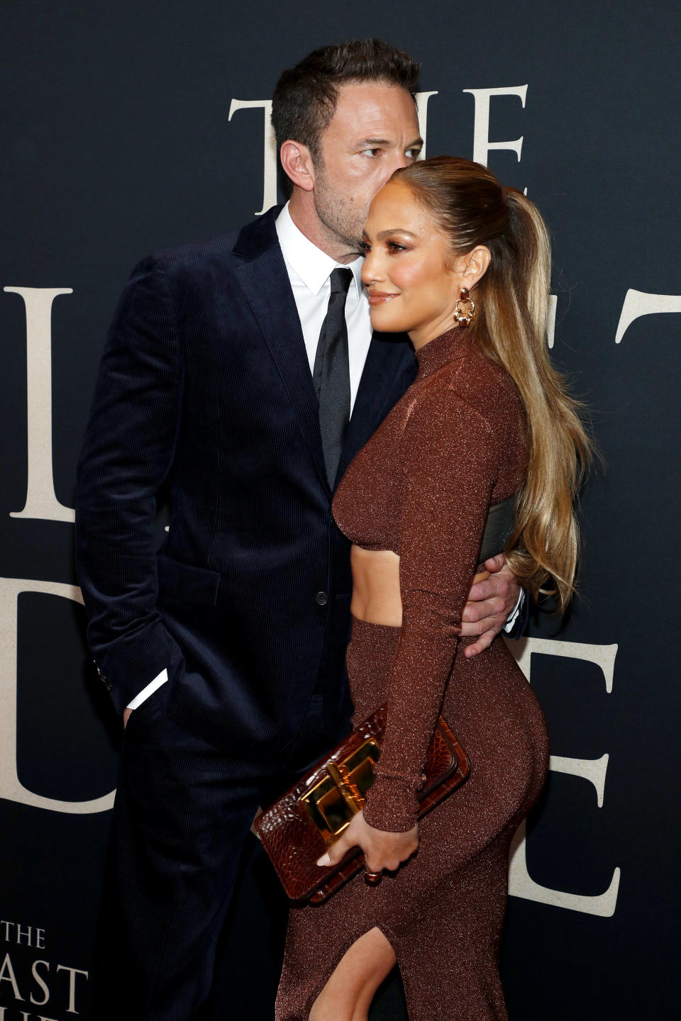 NEW YORK, NEW YORK – OCTOBER 09: Ben Affleck and Jennifer Lopez attend The Last Duel New York Premiere on October 09, 2021 in New York City. (Photo by Astrid Stawiarz/Getty Images for 20th Century Studios) - Credit: Getty Images for 20th Century Studios