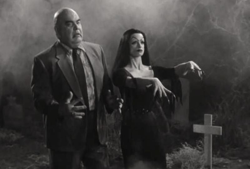 George 'The Animal' Steele with Lisa Marie in 1994's 'Ed Wood' (credit: Disney)